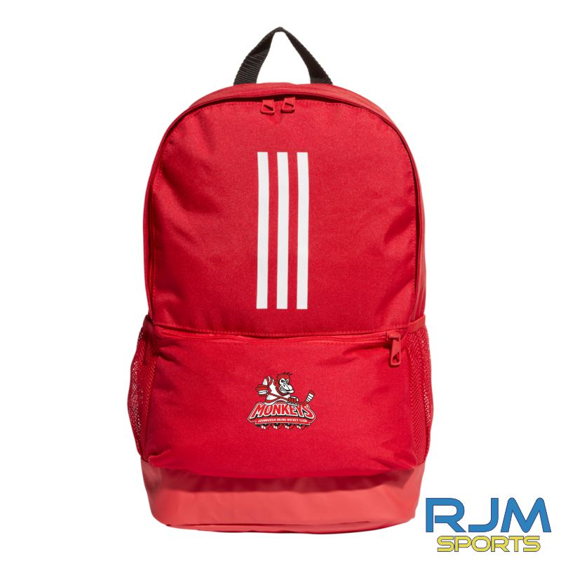 Edinburgh Monkeys Adidas Tiro Backpack Power Red/White
