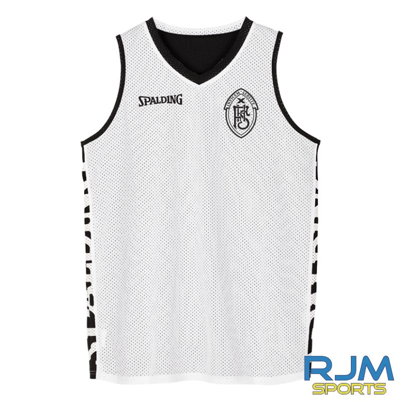 FHS S1 Pupils Spalding Essential Reversible Vest Black White