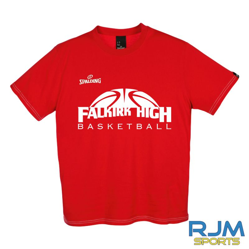 FHS S1 Pupils Spalding Team II T-Shirt Red