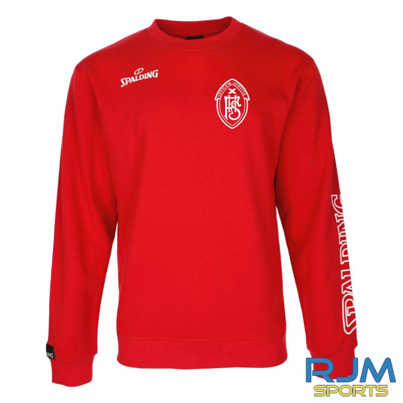 FHS Spalding Team II Crewneck Red