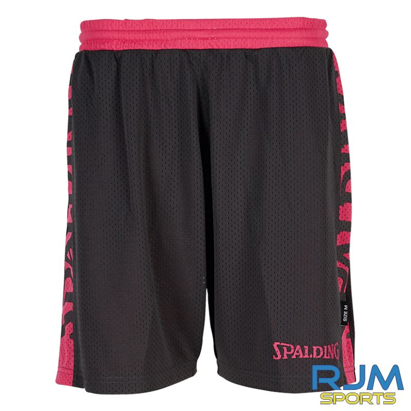 FHS Girls Additional Spalding 4Her Reversible Short Anthra Pink