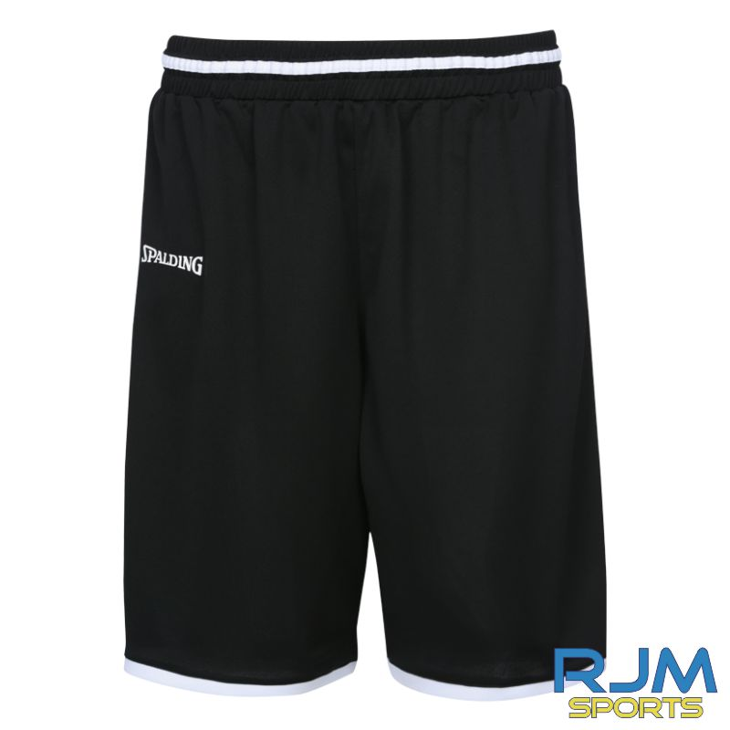 FHS Girls Additional Spalding Move Short Black White