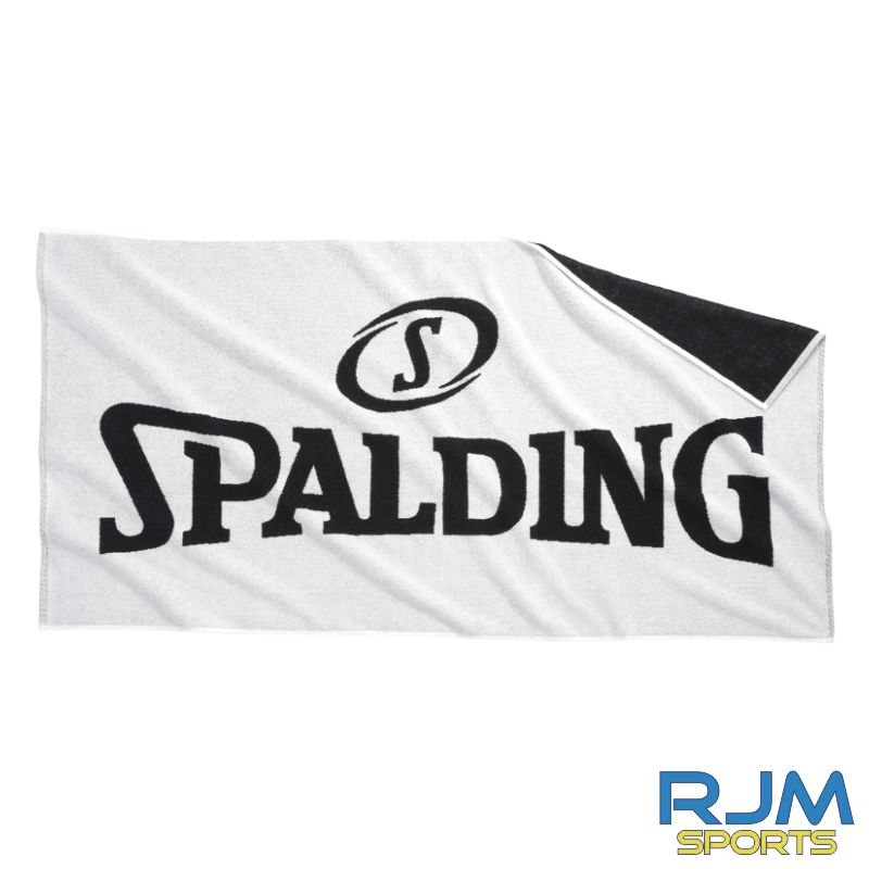 FHS Spalding Towel White Black