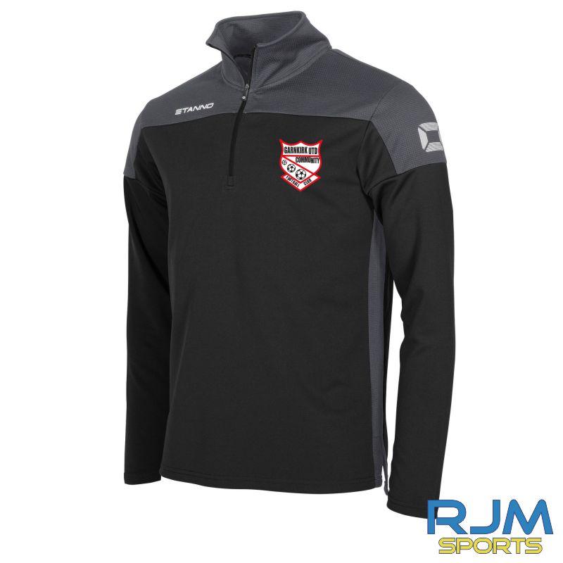 Garnkirk Community FC Stanno Pride Coaches 1/4 Zip Top Black Anthracite