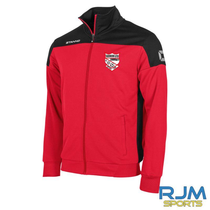 Garnkirk Community FC Stanno Pride Players TTS Jacket Red Black