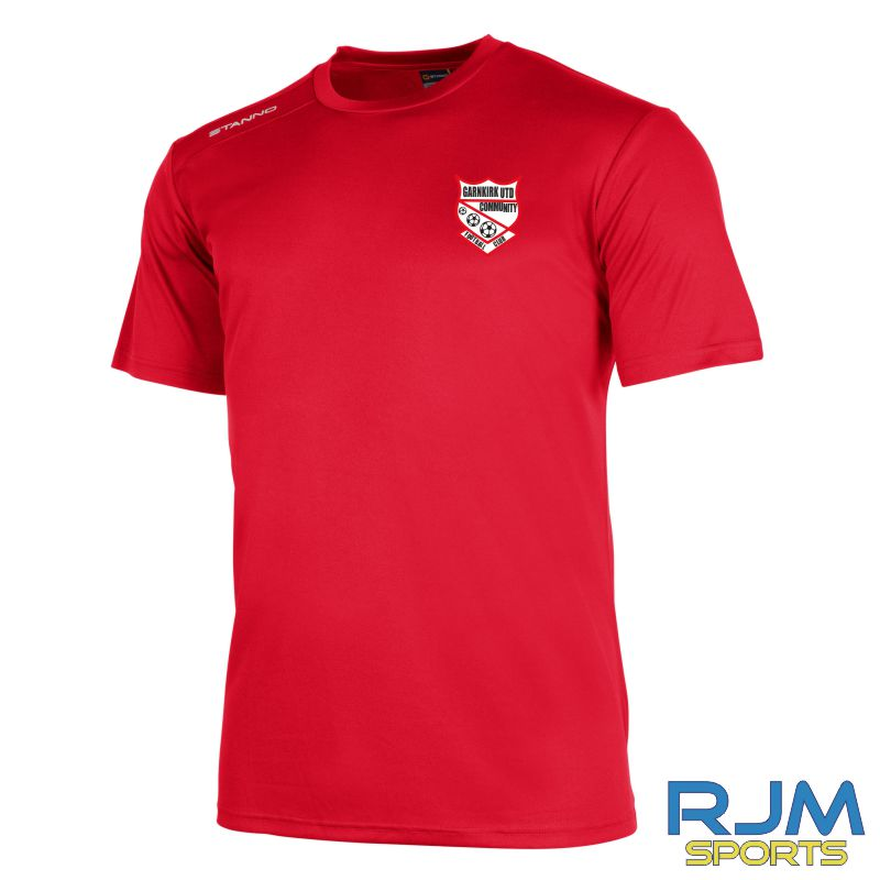 Garnkirk Community FC Stanno Training Field Short Sleeve Shirt Red
