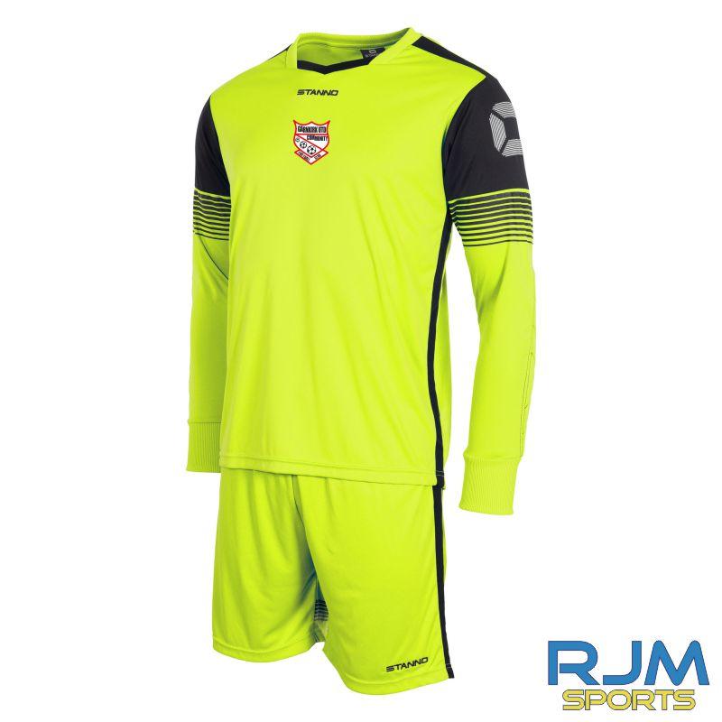 Garnkirk Community FC Stanno Nitro GK Set Neon Yellow