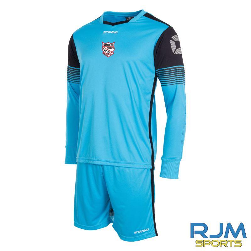 Garnkirk Community FC Stanno Nitro GK Set Blue Black