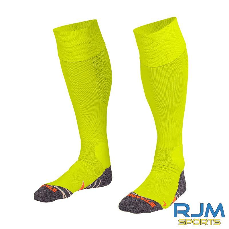 Garnkirk Community FC Stanno Uni II GK Socks Neon Yellow