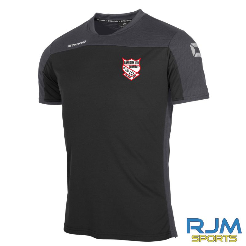 Garnkirk Community FC Stanno Pride Coaches T-Shirt Black Anthracite