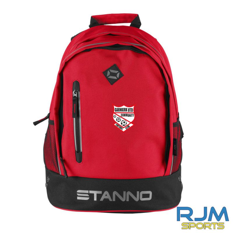 Garnkirk Community FC Stanno Backpack Red