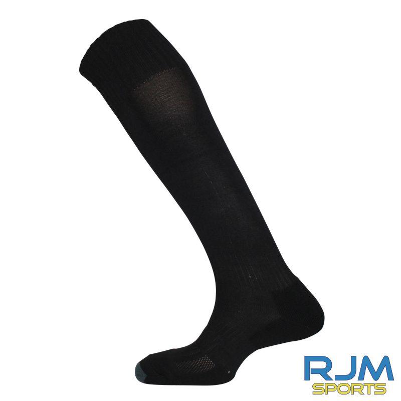 Garnkirk Community FC Mitre Mercury Plain Socks Black