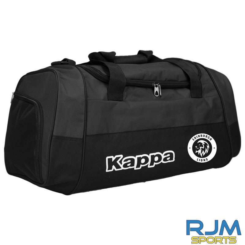 Edinburgh Lions Kappa Brenno Bag Black