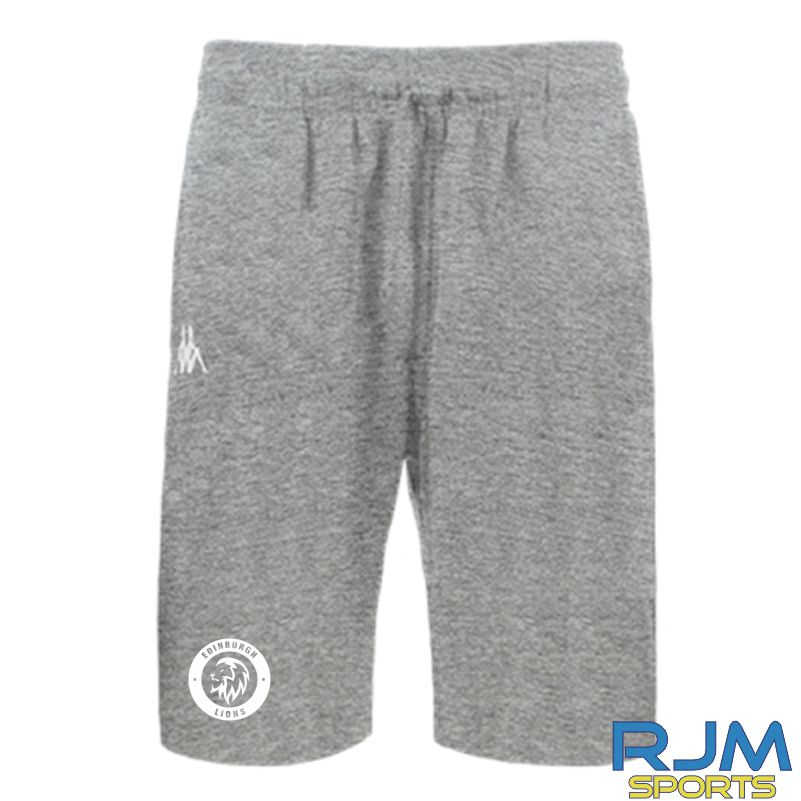 Edinburgh Lions Kappa Peci Shorts Grey