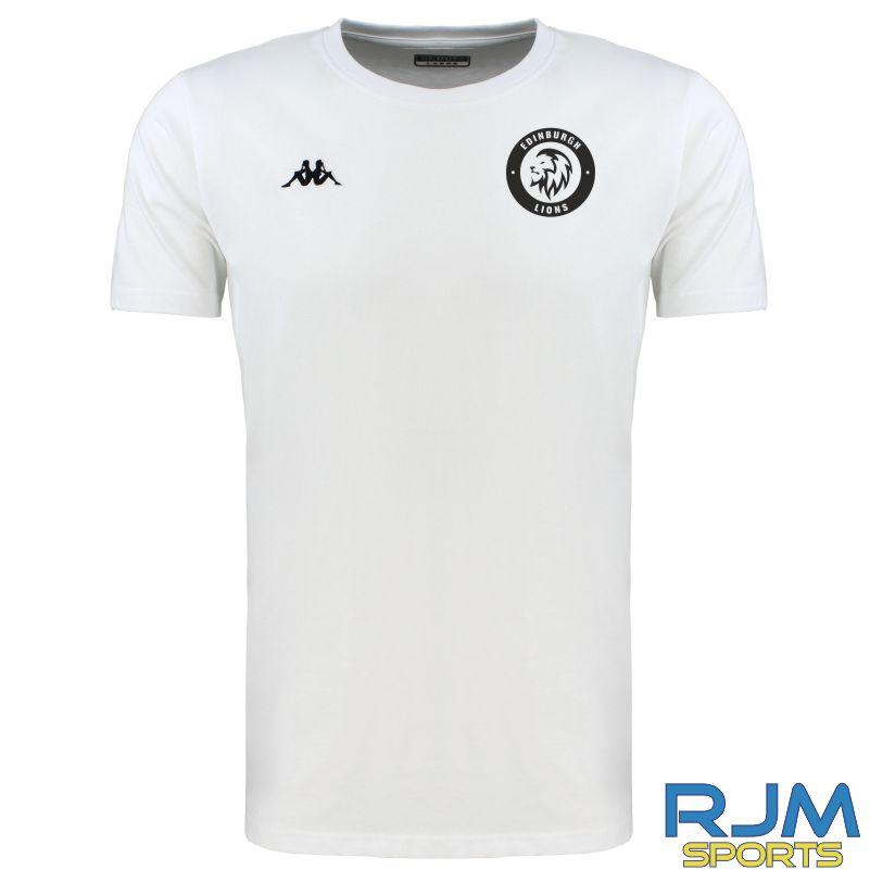 Edinburgh Lions Kappa Meleto T-Shirt White