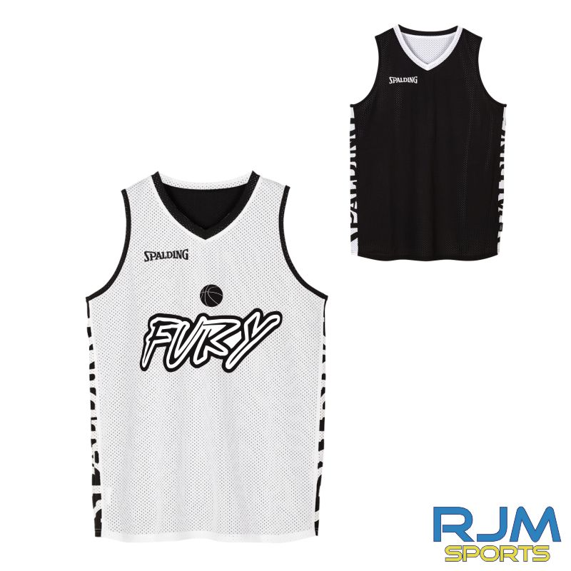 Falkirk Fury Spalding Essential Reversible Vest Black/White