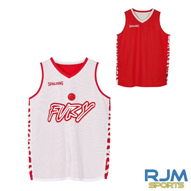 Falkirk Fury Spalding Essential Reversible Vest Red/White