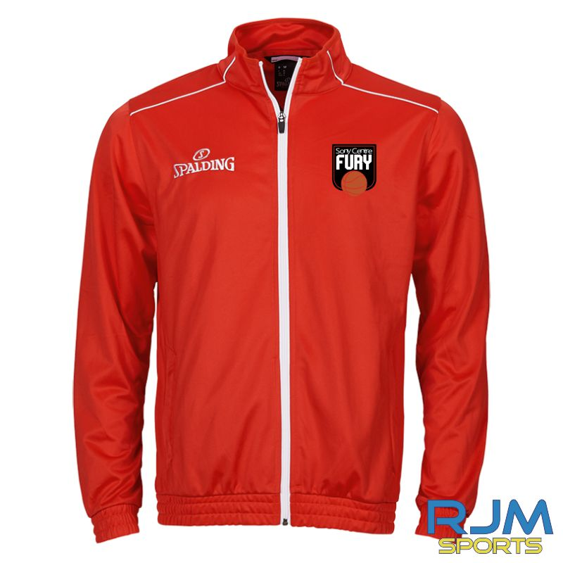 Falkirk Fury Spalding Team Warm Up Jacket Red/White