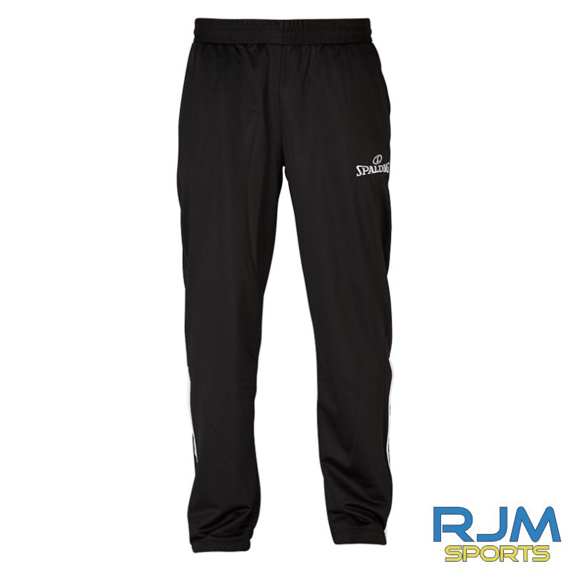 Falkirk Fury Spalding Team Warm Up Pants Black/White