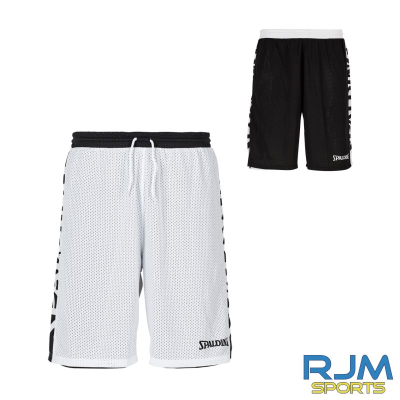 Falkirk Fury Spalding Essential Reversible Shorts Black/White