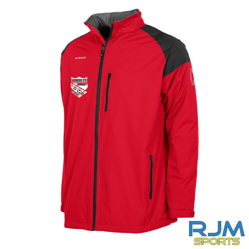 Garnkirk Community FC Stanno All Season Jacket Red Black