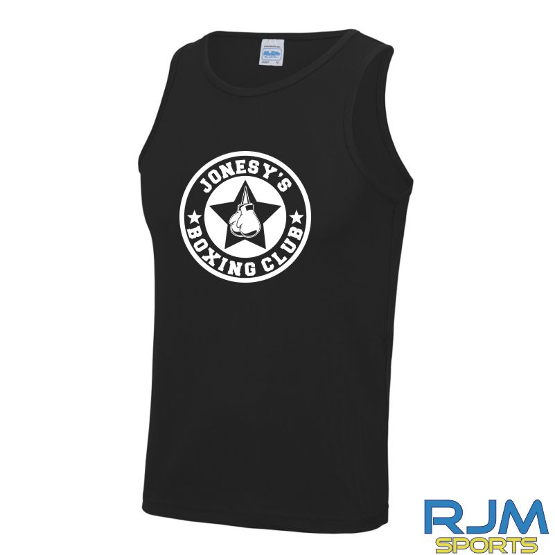 Jonesy's Boxing Club AWDis Cool Wicking Vest Black