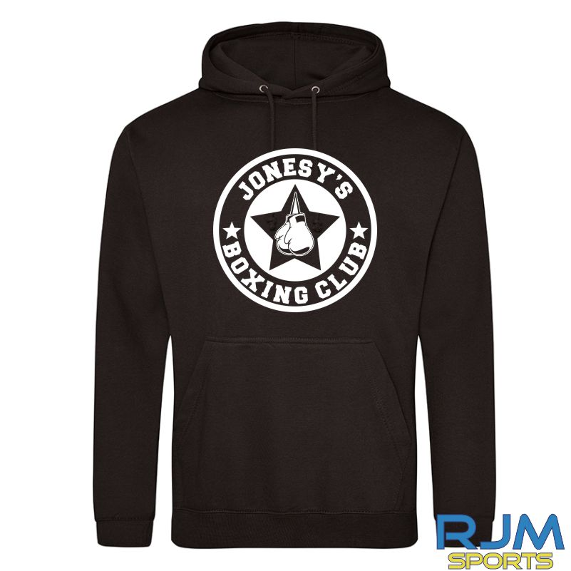 Jonesy's Boxing Club AWDis College Hoodie Black