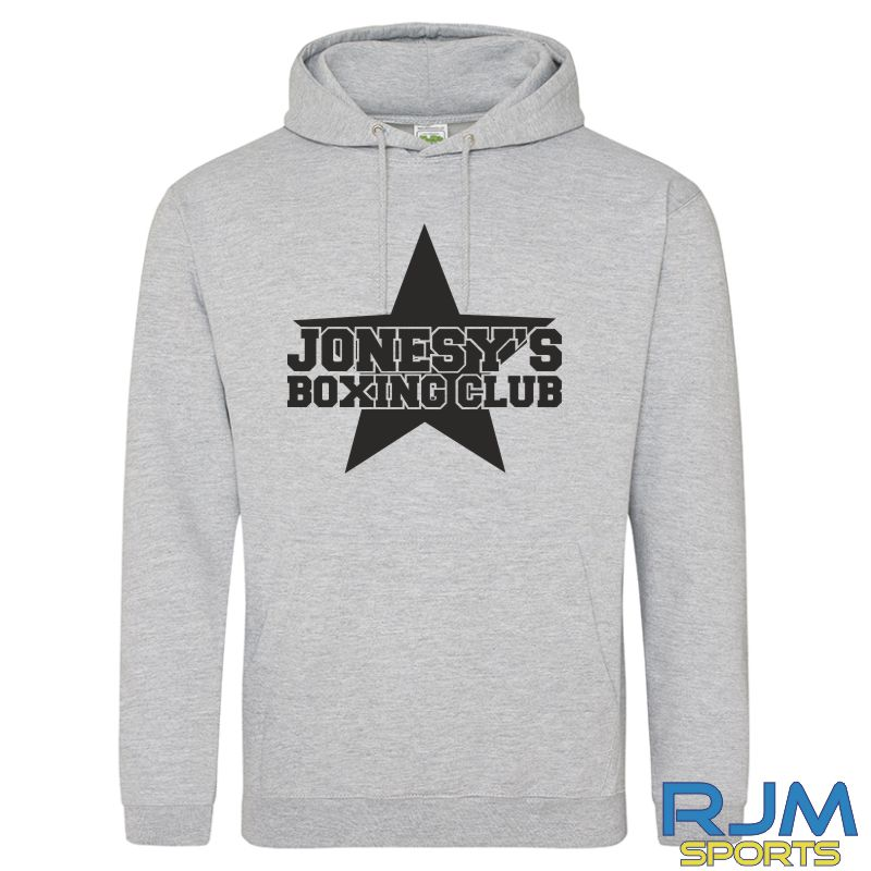 Jonesy's Boxing Club AWDis College SPECIAL EDITION Hoodie Heather Grey