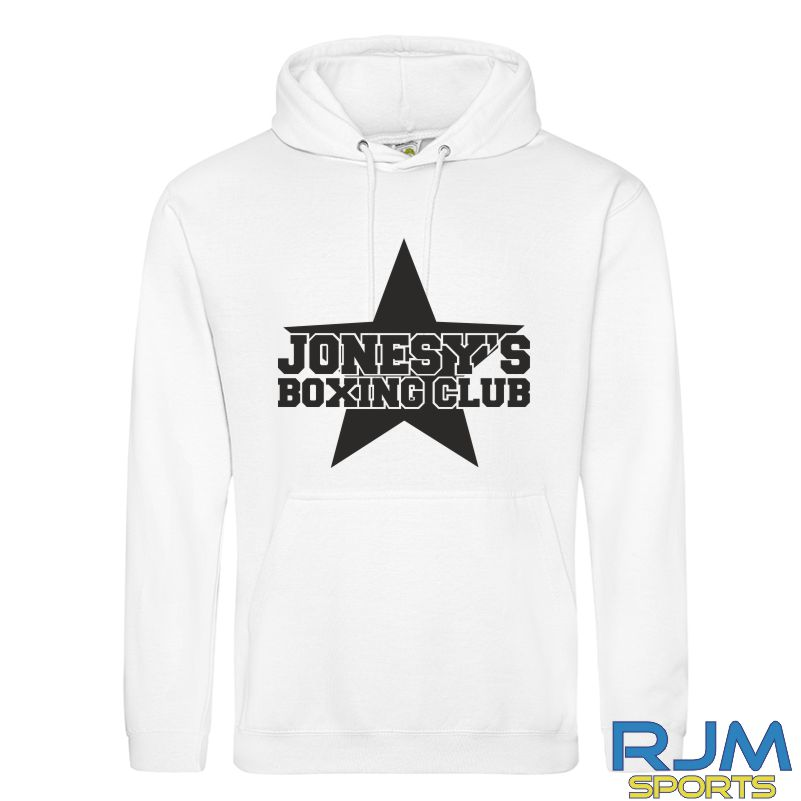 Jonesy's Boxing Club AWDis College SPECIAL EDITION Hoodie White