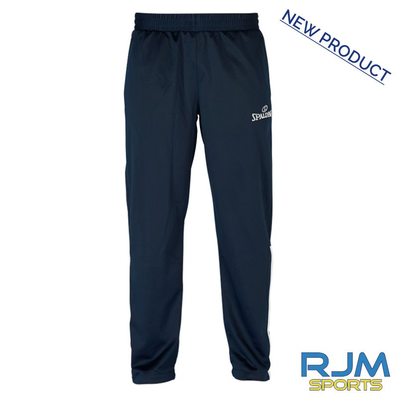 West Lothian Wolves Spalding Team Warm Up Pants Navy/White
