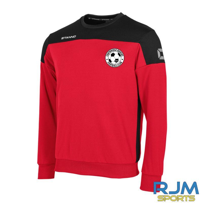 Coatbridge Rovers FC Stanno Pride Round Neck Top Red Black