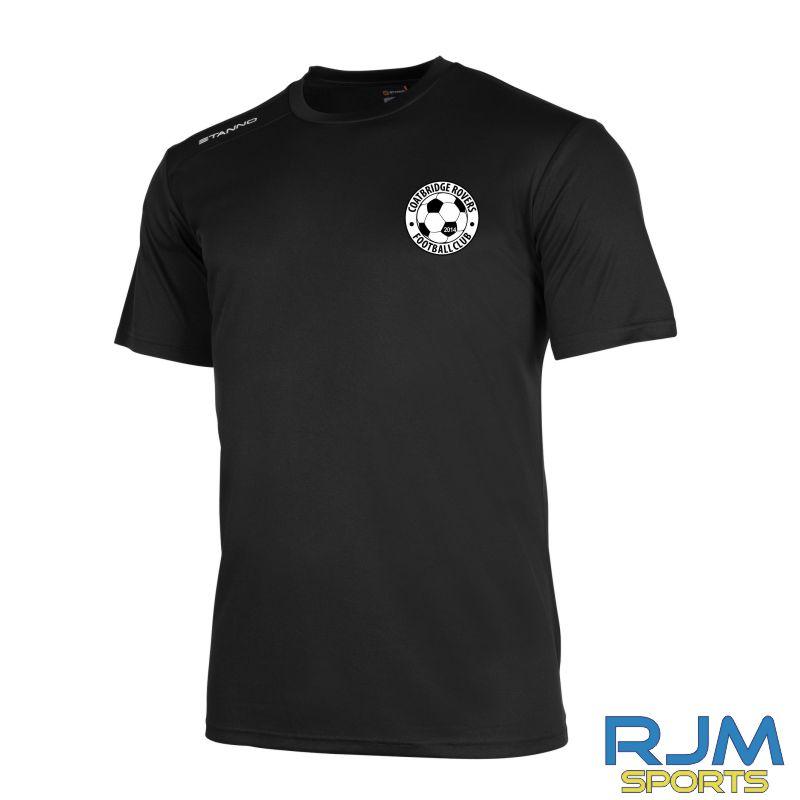 Coatbridge Rovers FC Stanno Field Training T-Shirt Black