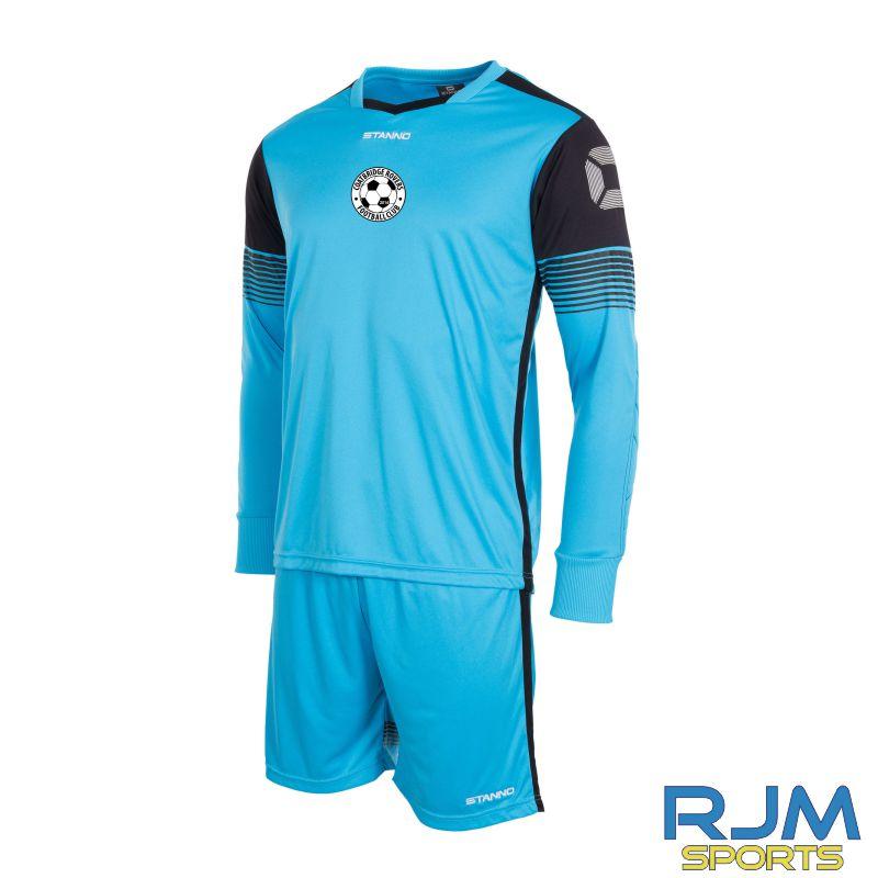 Coatbridge Rovers FC Stanno Nitro Away Goalkeeper Set Blue Black