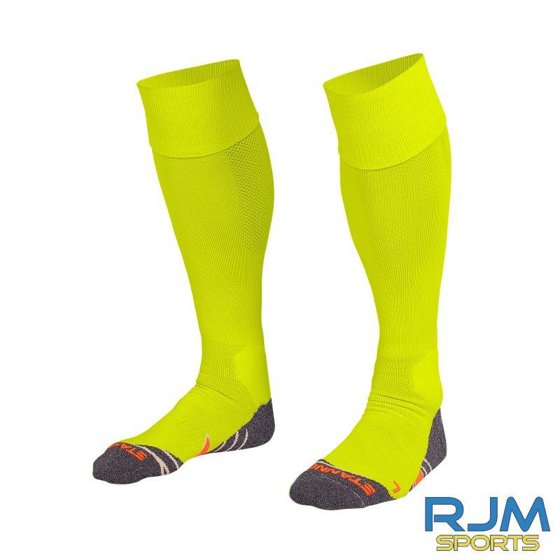 Coatbridge Rovers FC Stanno Uni II Home Goalkeeper Socks Neon Yellow