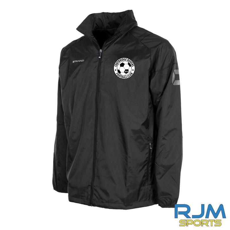 Coatbridge Rovers FC Stanno Centro All Weather Jacket Black