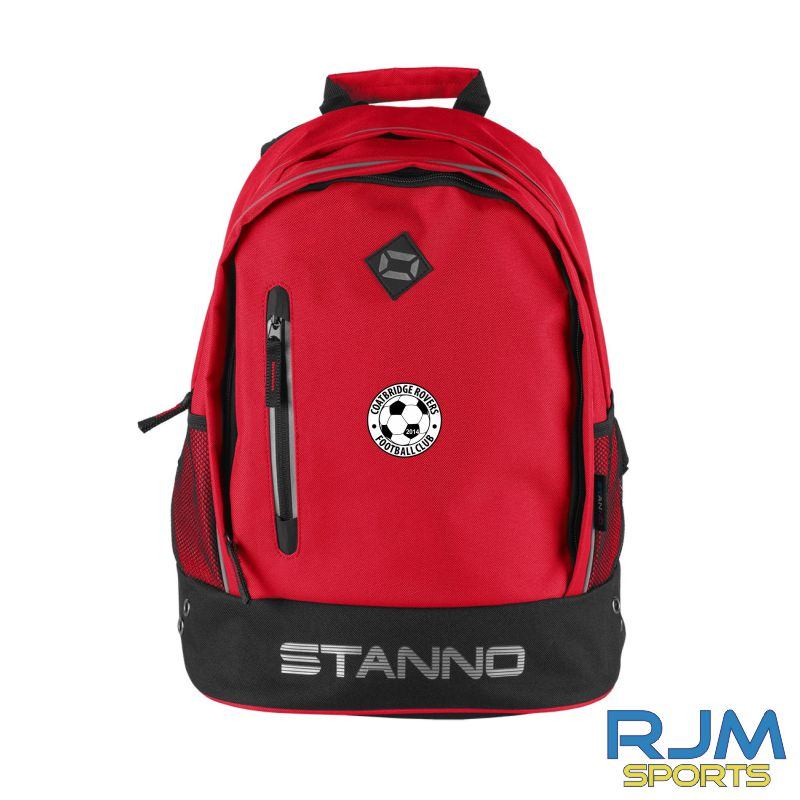 Coatbridge Rovers FC Stanno Backpack Red