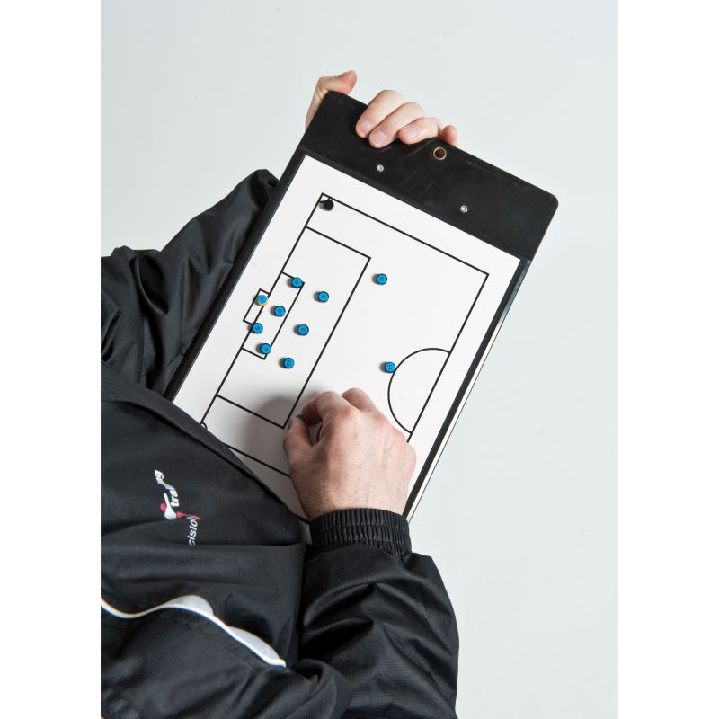 Precision Pro Soccer Coaches Double-Sided Clipboard A4