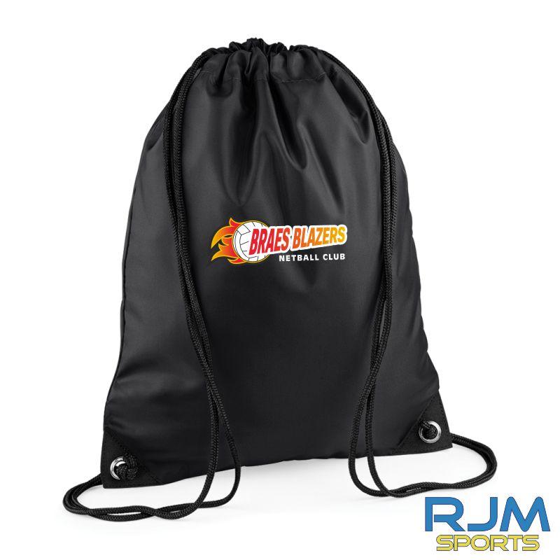 Braes Blazers Bag Base Premium Gymsac Black