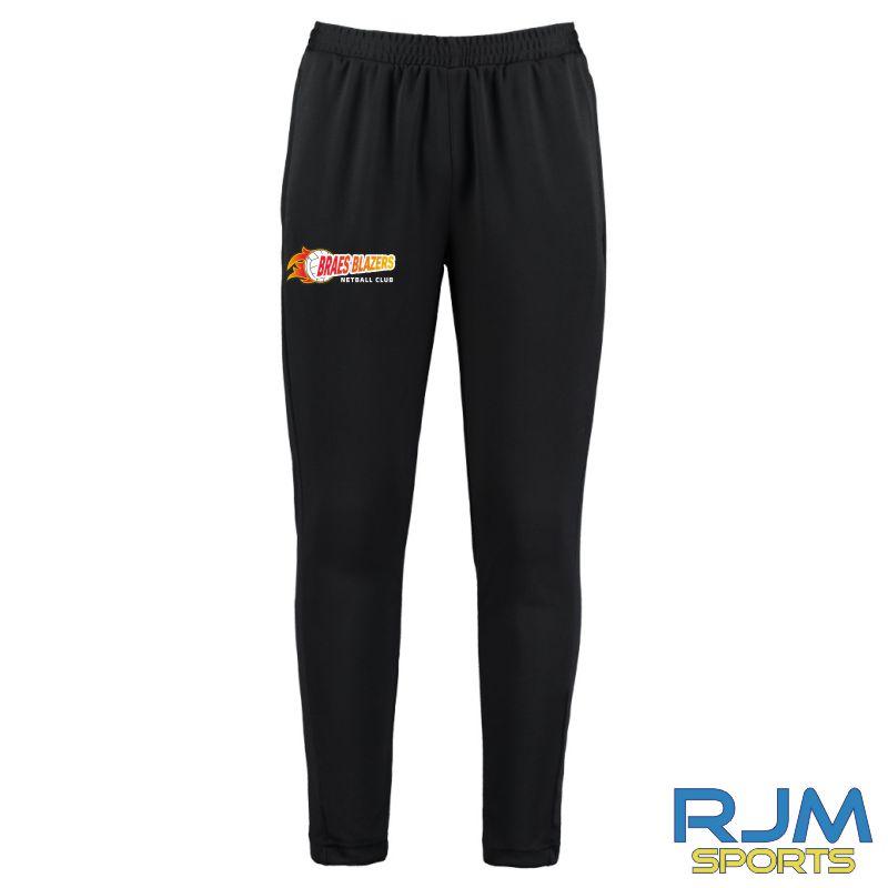 Braes Blazers Gamegear Slim Fit Track Pants Black