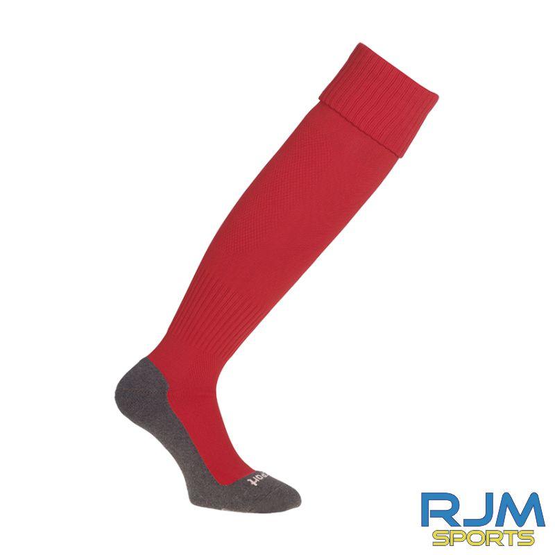 Falkirk Soccer Academy Uhlsport Team Pro Essential Home Socks Red