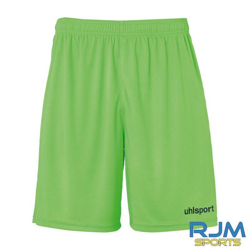 Falkirk Soccer Academy Uhlsport Centre Basic Away Shorts Fluo Green