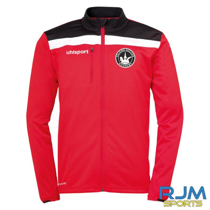 Falkirk Soccer Academy Uhlsport Offense 23 Poly Jacket Red Black White