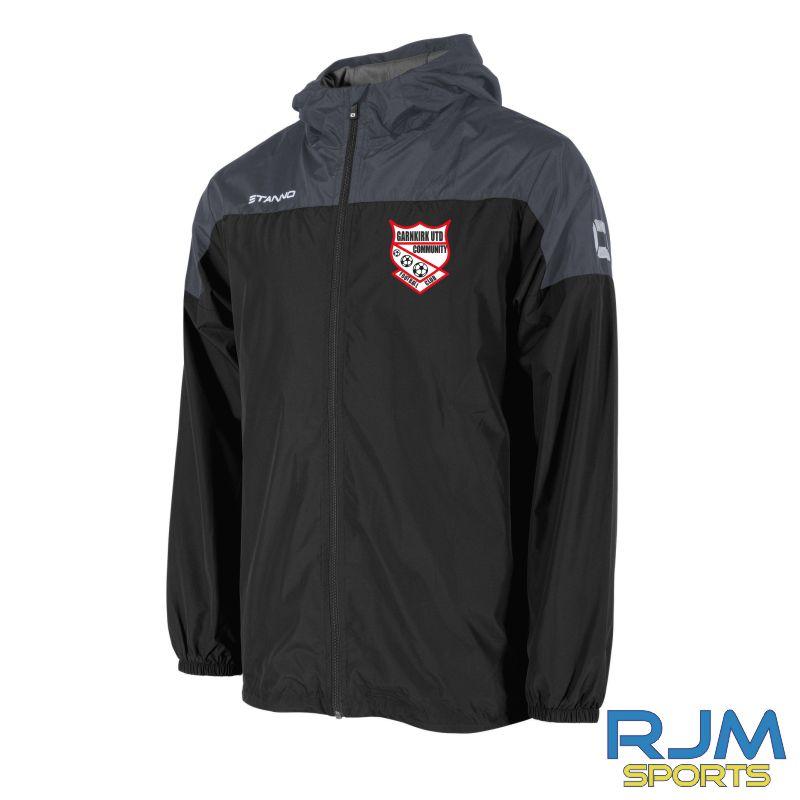 Garnkirk Community FC Stanno Pride Coaches Windbreaker Anthracite Black