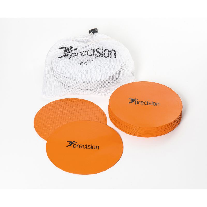 Precision Pro Large Rubber Marker Discs (Set of 20) Various Colours