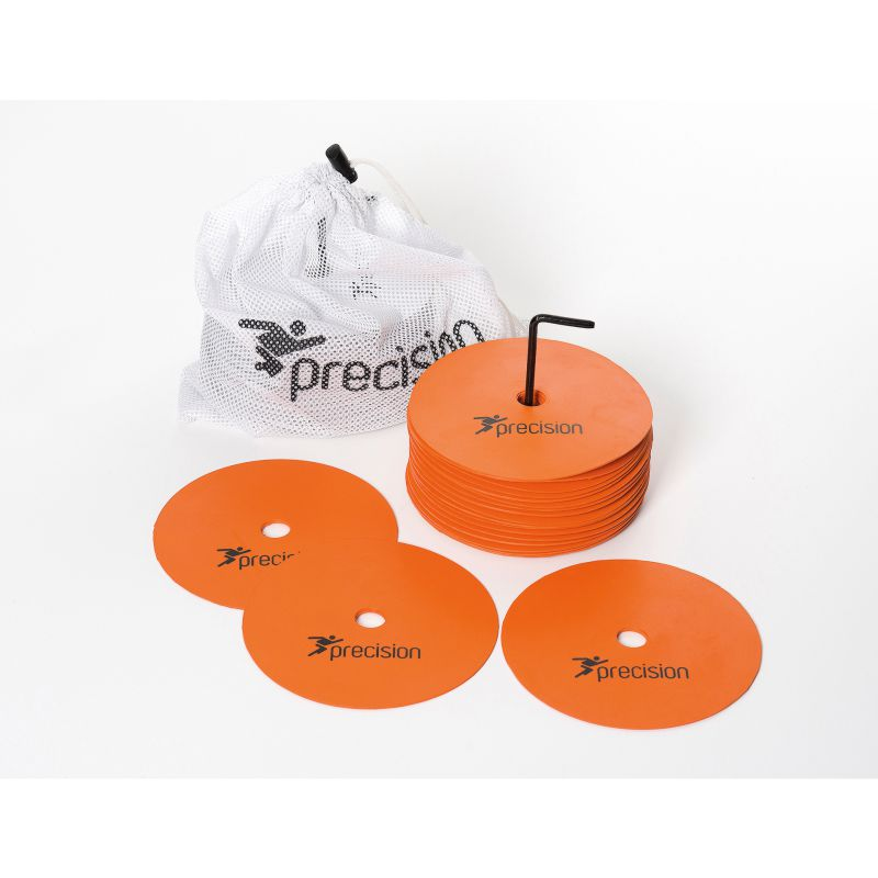 Precision Pro Medium Rubber Marker Discs (Set of 20) Various Colours