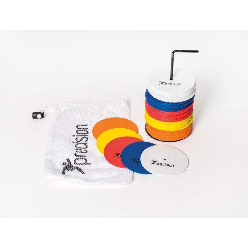 Precision Small Rubber Marker Discs (Set of 50) Multi Colour