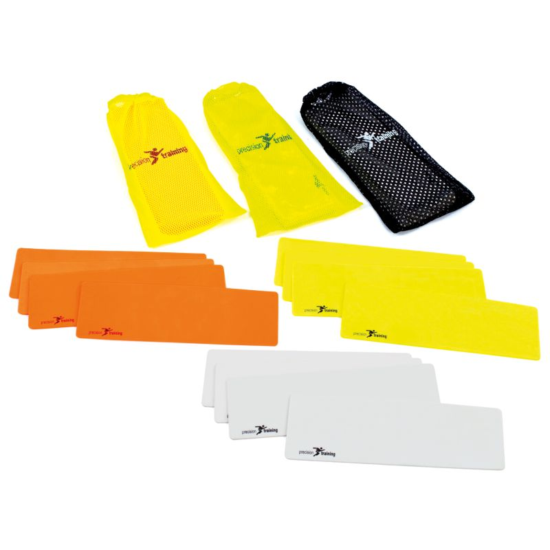 Precision Rectangular Markers (Set of 10) Various Colours
