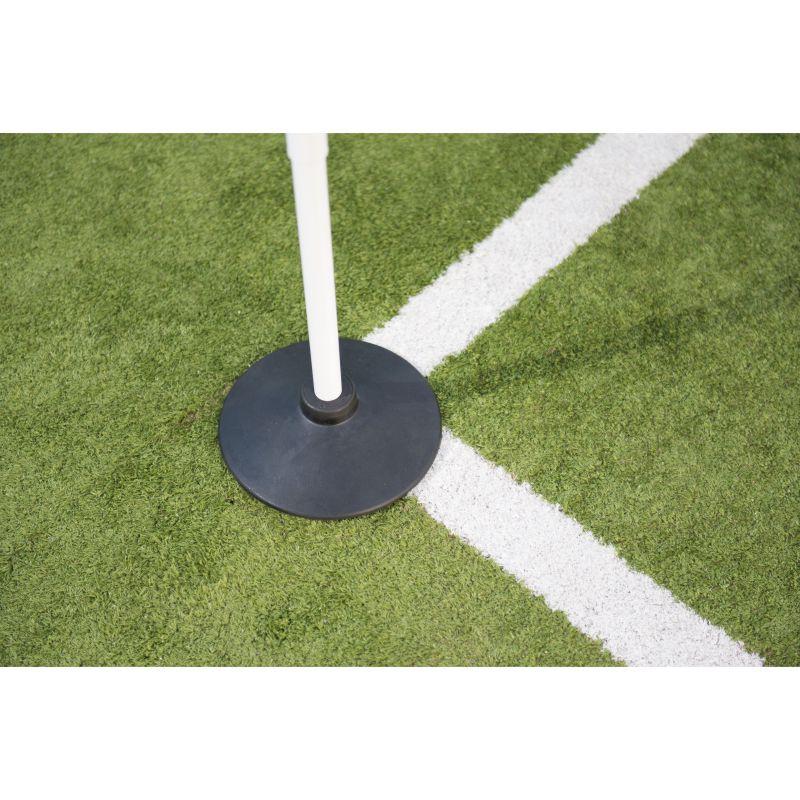 Precision Rubber Corner Pole Base