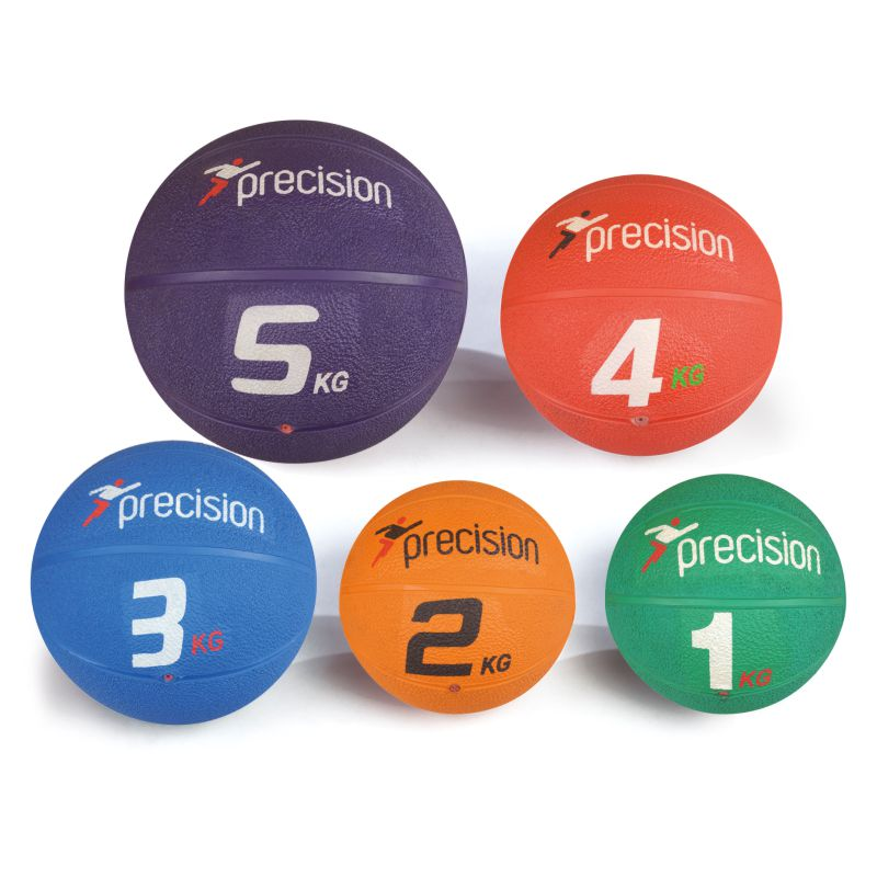 Precision Rubber Medicine Ball Various Weights