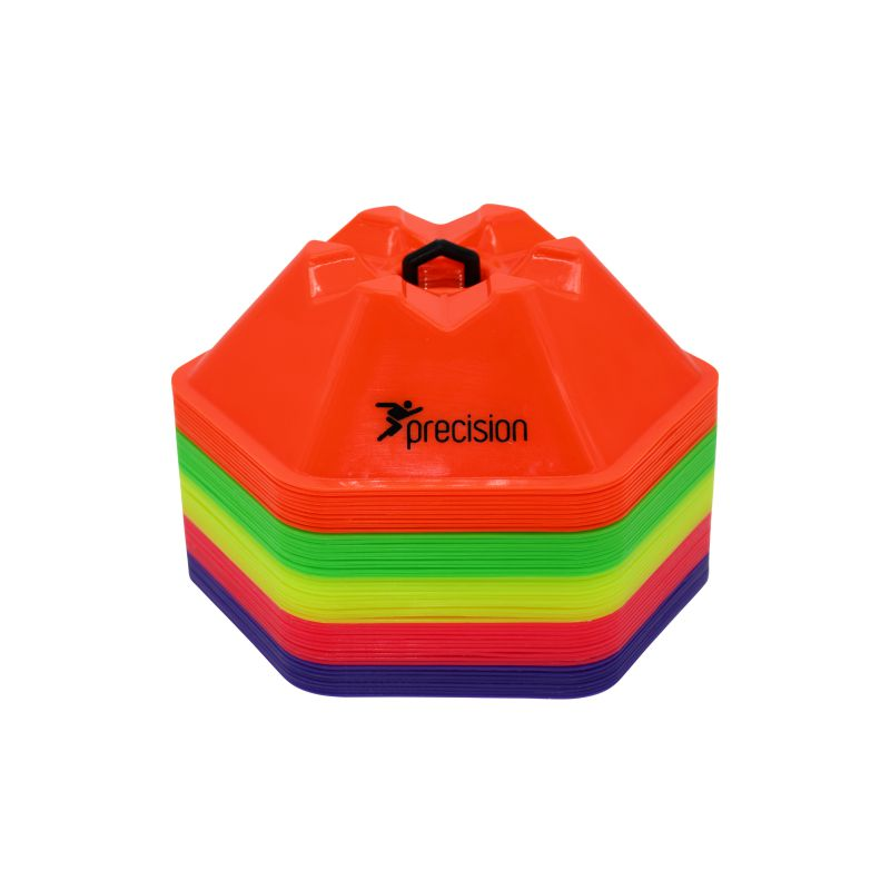 Precision Pro HX Saucer Cones (Set of 50) Various Colours